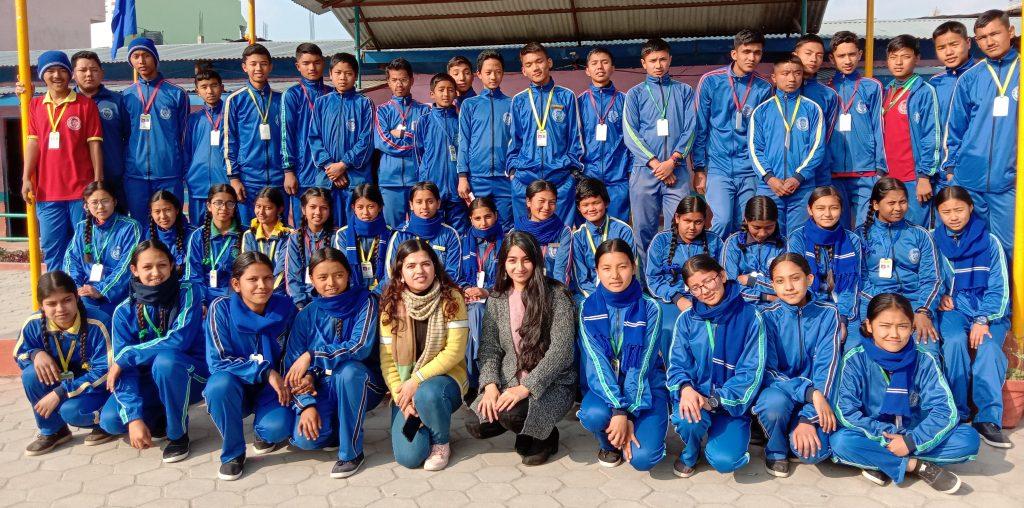 Sampada and Puja after mentorship session
